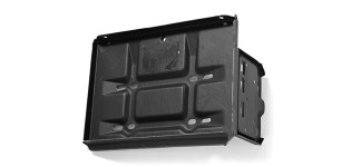 Van Battery Tray + Bracket N/S Petrol - 98